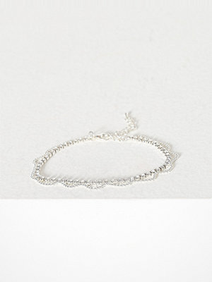 NLY Accessories smycke Crystal Chain Anklet