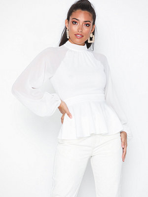 NLY One Sheer Sleeve Top