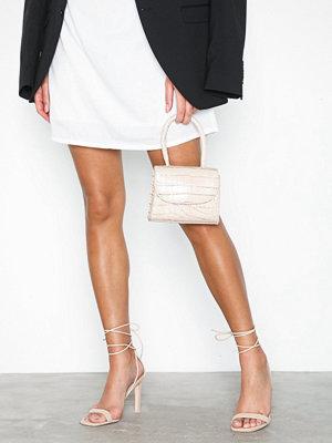 Pumps & klackskor - NLY Shoes Square Heel Sandal Nougat