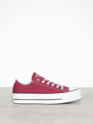 Sneakers & streetskor - Converse Chuck Taylor All Star Lift Ox Röd