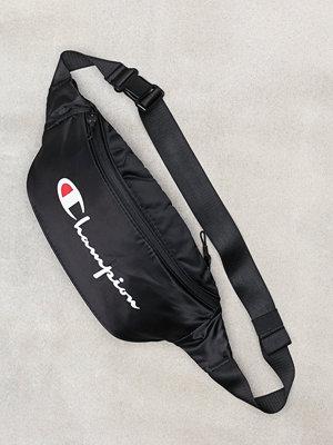 Champion svart axelväska med tryck Belt Bag