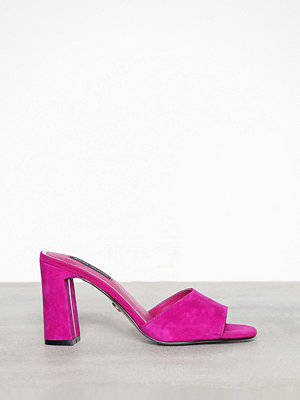 River Island Block Heel Low Mule