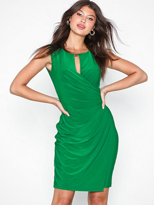 Lauren Ralph Lauren Elkana-Cap Sleeve-Day Dress