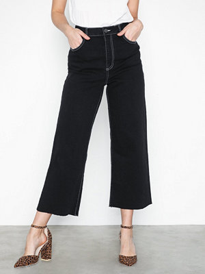 Noisy May Nmmartie Hr Crop Wide Leg Jeans X3