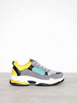 Sneakers & streetskor - Duffy Dad Contrast Sneaker Gul