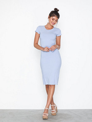 NLY Trend Frill Edge Midi Dress