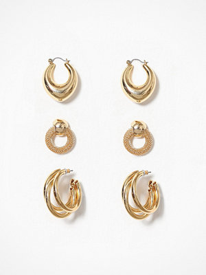 NLY Accessories örhängen Perfect 3 pack Earrings