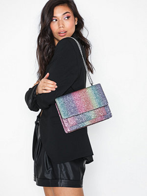 NLY Accessories mönstrad axelväska Chain Shoulder Bag Rainbow
