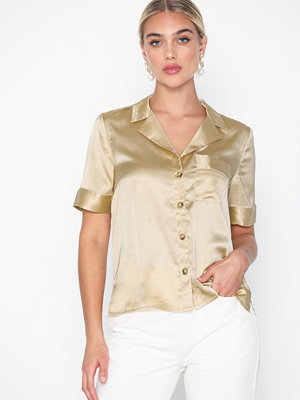 Skjortor - Pieces Pcfelippa Ss Shirt D2D