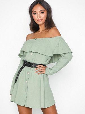 Glamorous Long Sleeve Offshoulder Dress