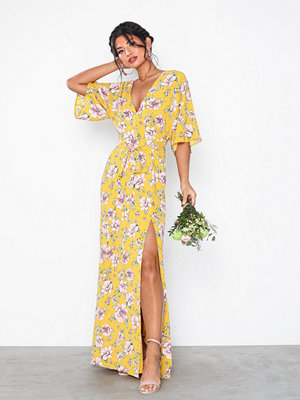 NLY Eve Tie Front Kimono Gown