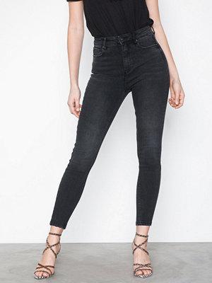 Jeans - Only onlMILA Hw Skinny Ank Jeans BJ13776