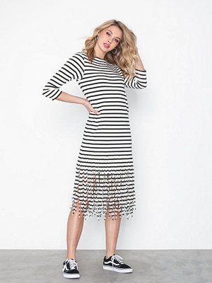 Polo Ralph Lauren Fringe Dress-3/4 Sleeve-Casual Dress