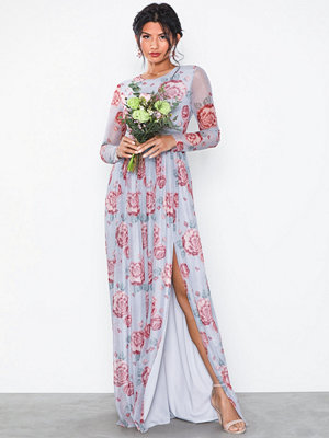 NLY Eve Printed LS Gown