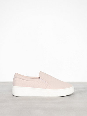 Duffy Slip-On Sneaker Snake Ljus Rosa