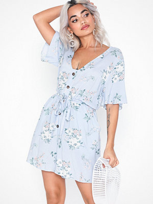 NLY Trend Flowy Printed Playsuit