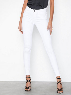 Noisy May Nmlucy Nr Pckt Piping White Jeans C