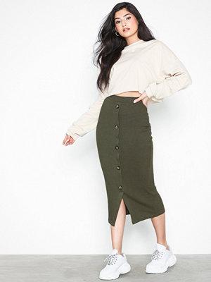 Pieces Pcrose Hw Midi Skirt D2D