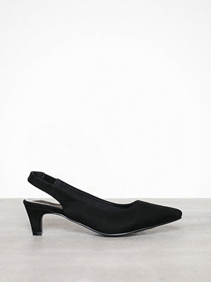 Duffy Sling Back Pumps Svart