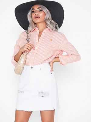 Skjortor - Polo Ralph Lauren Ls Rx Anw St-Relaxed-Long Sleeve-Shirt