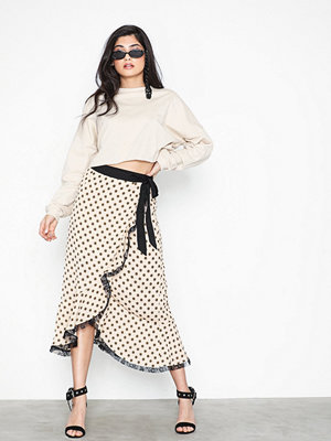 Glamorous Fill Lace Dot Skirt