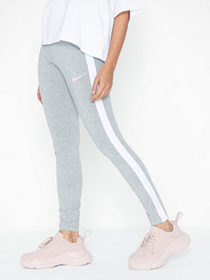 Nike ljusgrå byxor NSW Leggings