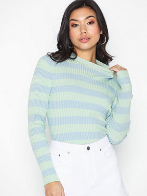 NLY Trend Rib Knit Striped Top