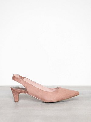 Pumps & klackskor - Duffy Sling Back Pumps Ljus Rosa