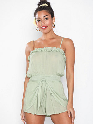 Strandplagg - River Island Square Neck Playsuit