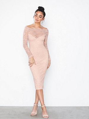 Festklänningar - Ax Paris Offshoulder Lace Dress