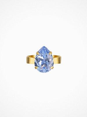 Caroline Svedbom Mini drop ring Sapphire