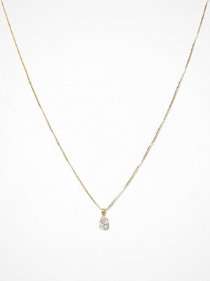 Caroline Svedbom halsband Petite Drop Necklace Crystal