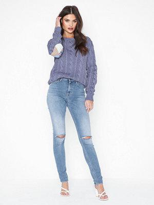 Tröjor - Polo Ralph Lauren Ls Elbw Ptch-Long Sleeve-Sweater