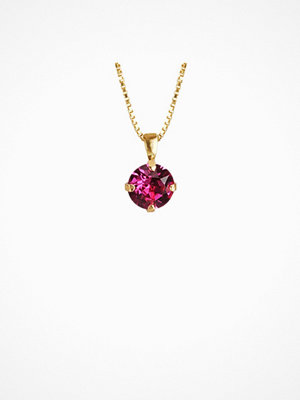 Caroline Svedbom halsband Classic Petite Necklace Fuchsia