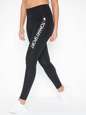 Sportkläder - Tommy Sport Highwaist Legging Logo