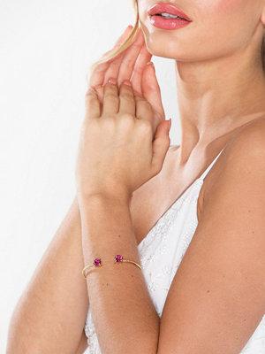 Caroline Svedbom armband Classic Petite Bracelet Fuchsia