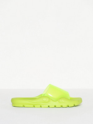 Missguided Chunky Sole Clear Upper Slider