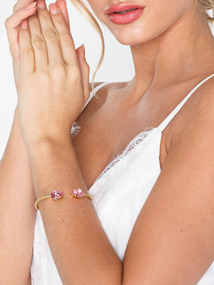 Caroline Svedbom armband Mini drop bracelet Rosa