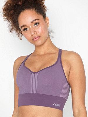 Sportkläder - Casall Seamless sports top Lavendel