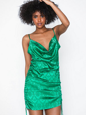 Missguided Satin Jacquard Cami Dress