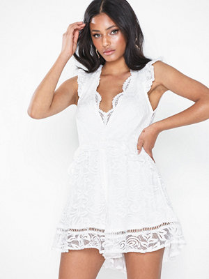 Love Triangle Lace Playsuit