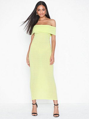 NLY One Off Shoulder Midi Dress
