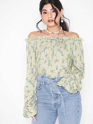 NLY Trend Off The Shoulder Print Top