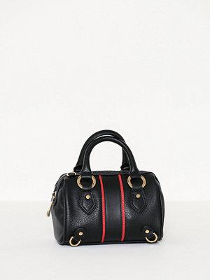 Topshop Stripe Mini Bowler Bag