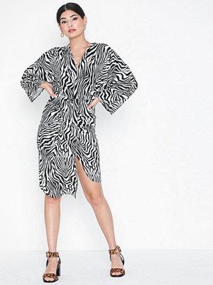 Ax Paris Knot Zebra Dress