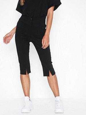 Topshop svarta byxor Pedal Pusher Trousers
