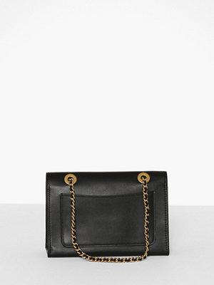 Coach svart axelväska Refined Calf Leather Parker Shoulder Bag