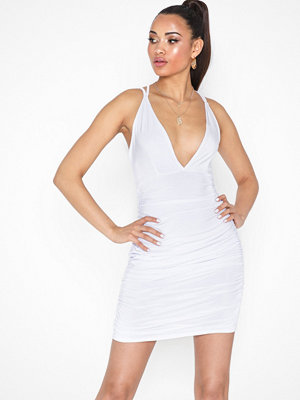 Missguided Slinky Cross Back Dress