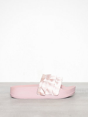 Duffy Frill Slipper Rosa