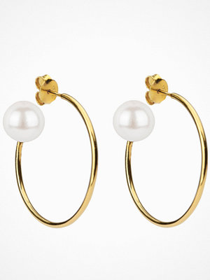 Syster P örhängen Pearly Big Hoops